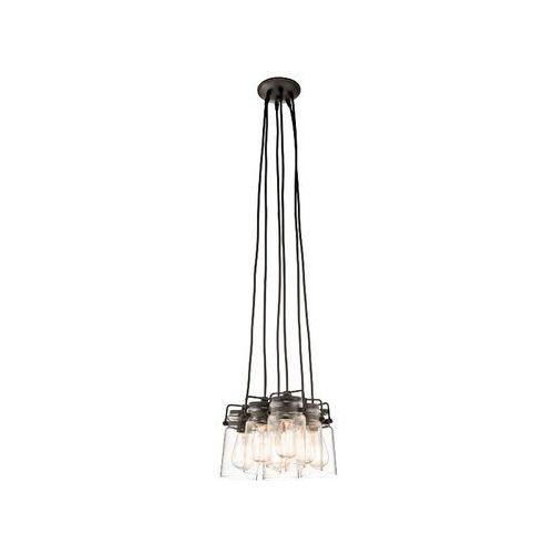 Kl/brinley6 kichler brinley loft lampa wisząca  marki Elstead