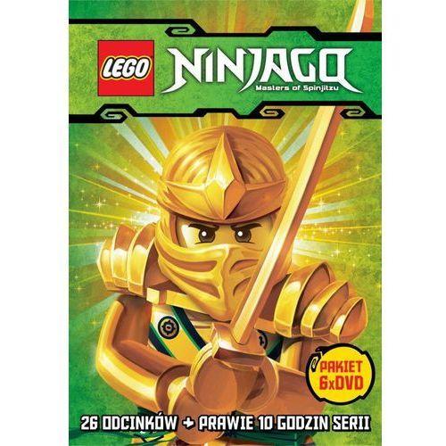 Galapagos Film  lego ninjago. kompletna kolekcja - części 1-6 (6 dvd) lego ninjago: masters of spinjitzu