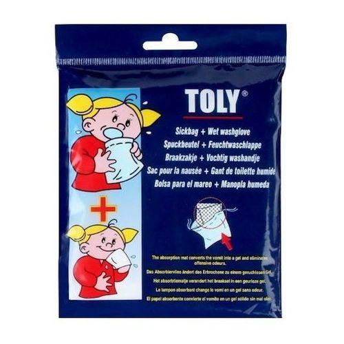 Torebka chorobowa z chusteczką - sick bag marki Toly