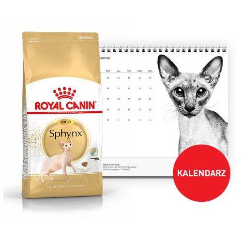 ROYAL CANIN Sphynx 2kg + Kalendarz 2018