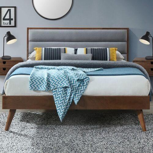 Oriana eleganckie łóżko tapicerowane 160x200 cm
