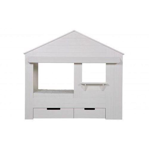 Woood :: łóżko w kształcie domku huisie bez szuflad