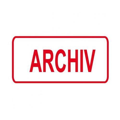 B2b partner Plastikowa tabliczka na drzwi - archiwum