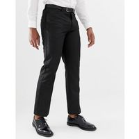Bellfield trouser with contrast trim in black - black