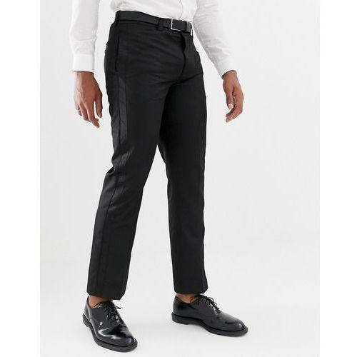 trouser with contrast trim in black - black marki Bellfield