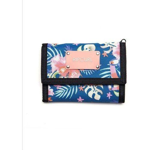 Rip curl Portfel - toucan flora surf wallet navy (49) rozmiar: os