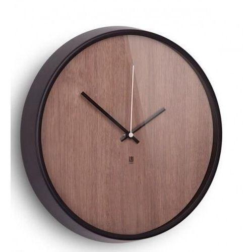 Zegar ścienny Madera Umbra ciemny-orzech, 118413-048