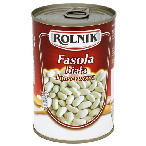 ROLNIK 425g Fasola biała konserwowa