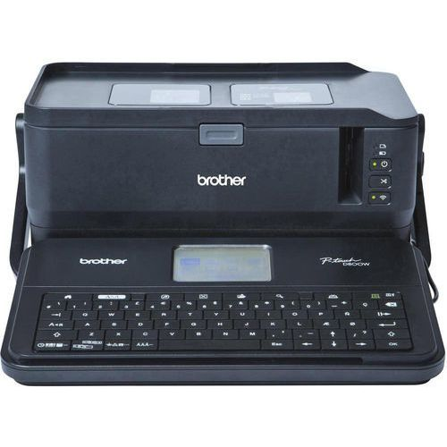 Drukarka etykiet Brother PTD800WZG1, Przystosowana do taśmy: TZe, HSe, Hge, Fle, P-Touch D800W