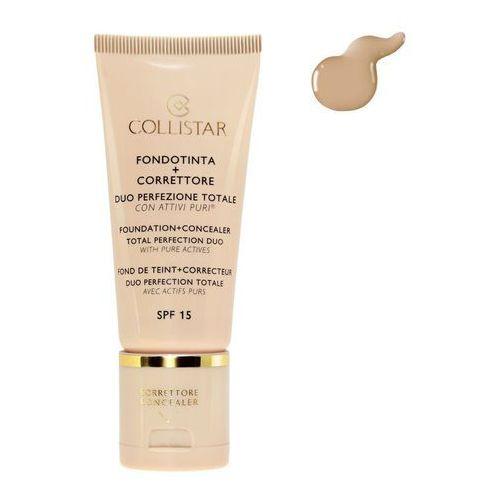 COLLISTAR_Fondation + Concealer SPF15 podkład i korektor do twarzy 4 30ml