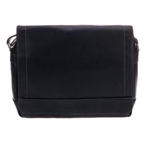 torba męska derek czarny, Tom tailor
