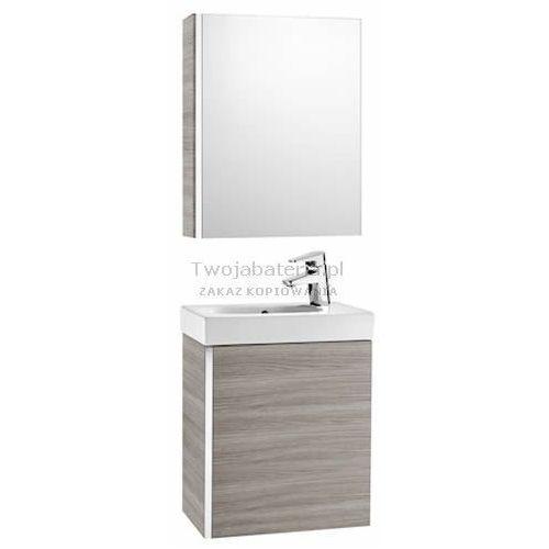 Roca Mini zestaw łazienkowy szafka umywalka 45x25 cm lustro A855866806