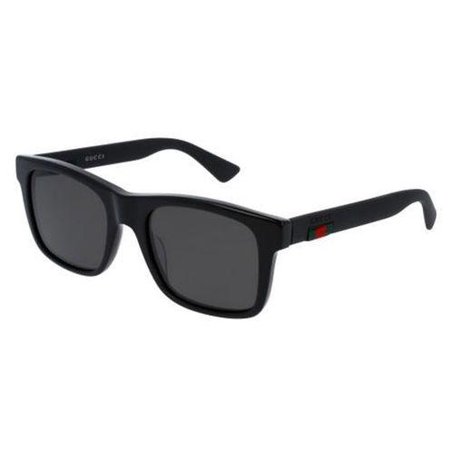 Okulary Słoneczne Gucci GG0008S Polarized 002, kolor żółty
