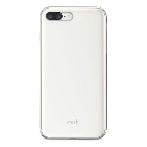 Moshi iGlaze Etui Obudowa iPhone 8 Plus / 7 Plus (Pearl White), 99MO090101