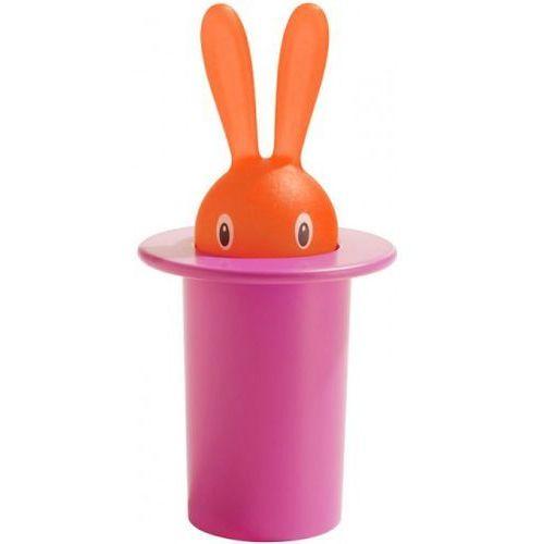 A di alessi - magic bunny - pojemnik na wykałaczki (wysokość: 14 cm) (8003299923526)
