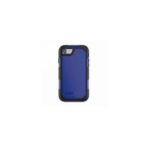 Etui pancerne  survivor summit iphone 7, czarno niebieskie, marki Griffin