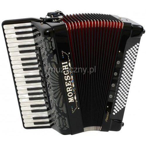 Moreschi ST 412 Deluxe 41/4/11+M 120/5/4 Musette akordeon (czarny)