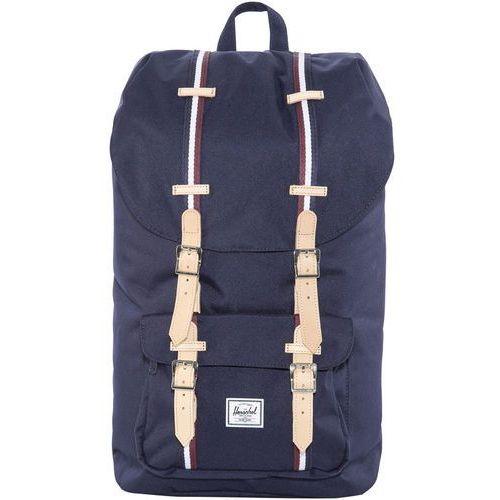 Herschel little america plecak czerwony/niebieski 2018 plecaki szkolne i turystyczne