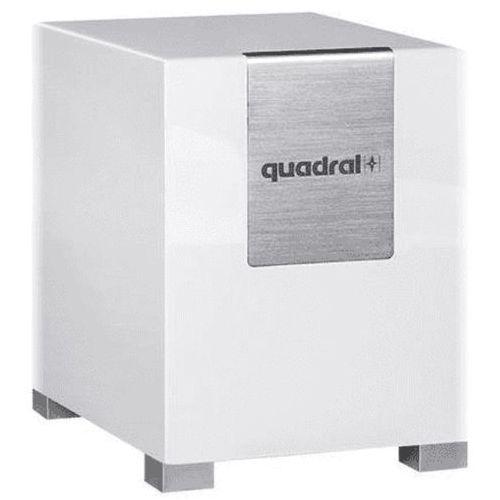 Subwoofer qube 10 biały mat marki Quadral