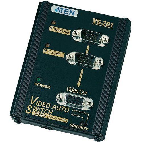 2-port vga video switch vs201 (vs201at-g) darmowy odbiór w 20 miastach!, marki Aten