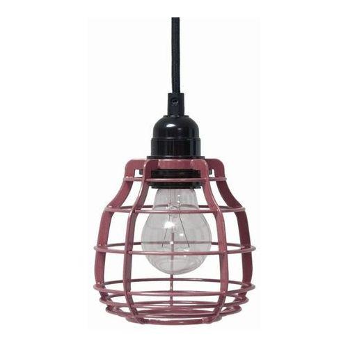 :: lampa lab marsala z włącznikiem - różowy marki Hk living