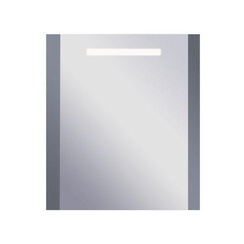 Dubiel vitrum Lustro łazienkowe z oświetleniem wbudowanym leo 55 x 65