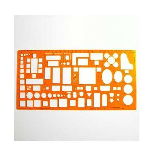 Szablony techniczne Szablon architektoniczny meble 1:50 x1