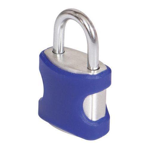 Kłódka Smith and Locke aluminium 21 mm niebieska 2 szt., BX0320*2-BLUE