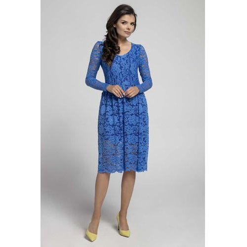f257574b Suknie i sukienki Rodzaj: rozkloszowana, Wzór: koronka, ceny, opinie ...