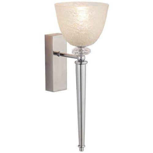 Amplex Kinkiet lampa ścienna lancia 557 dekoracyjna oprawa szklana glamour chrom (1000000549348)