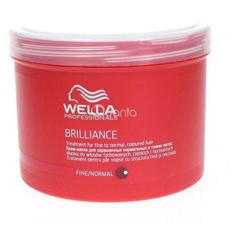 brilliance mask normal hair 500ml w maska do włosów normalnych i farbowanych marki Wella