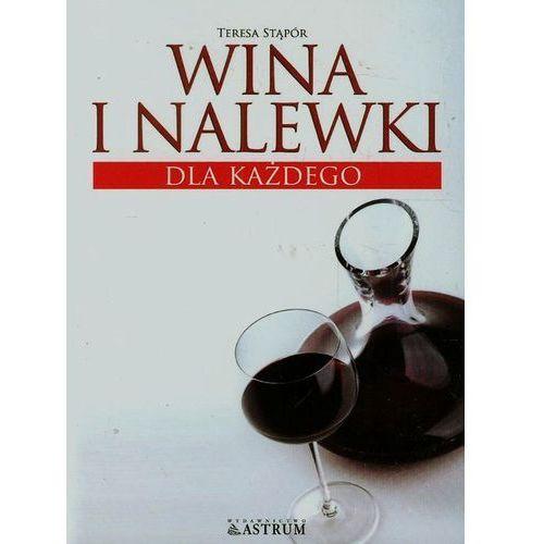 Wina i nalewki dla każdego, książka z kategorii Kuchnia, przepisy kulinarne
