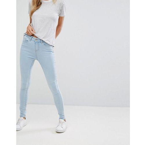 New Look Supersoft Skinny Jeans - Blue, kolor niebieski