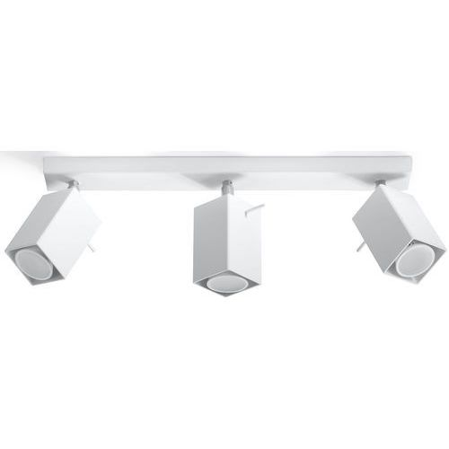 Sol Natynkowa lampa sufitowa sl.097 metalowa oprawa listwa spot regulowane reflektorki białe