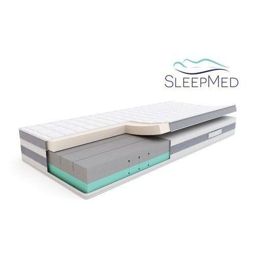 Sleepmed comfort - materac termoelastyczny, piankowy, rozmiar - 90x200 wyprzedaż, wysyłka gratis