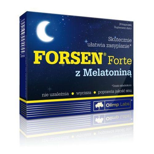 Kapsułki FORSEN FORTE z melatoniną x 30 kapsułek