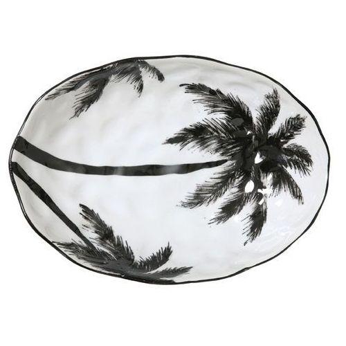 "Hk living porcelanowa salaterka w palmy z serii ""dżungla"" - hk living ace6021 (8718921009720)"