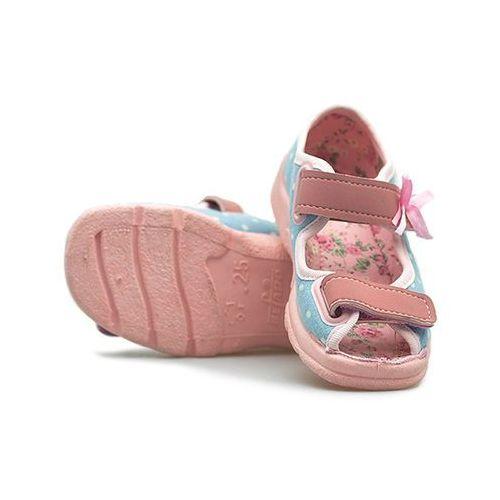 Befado Sandały dziecięce  969x081 niebieski/różowy
