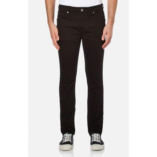 men's body slim fit 6 pocket jeans - core black stretch - w34/l32, marki Calvin klein