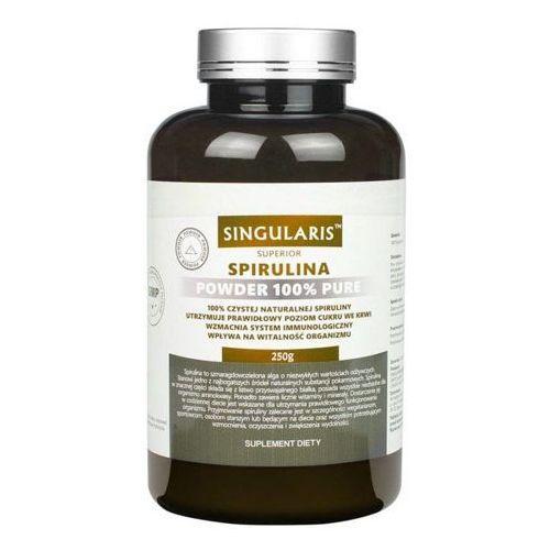 spirulina superior powder 250g marki Singularis