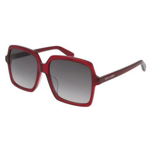 Okulary Słoneczne Saint Laurent SL 174/F Asian Fit 003