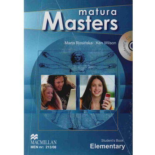 Matura Masters Elementary Podręcznik + CD + Grammar And Vocabulary Master (2009)