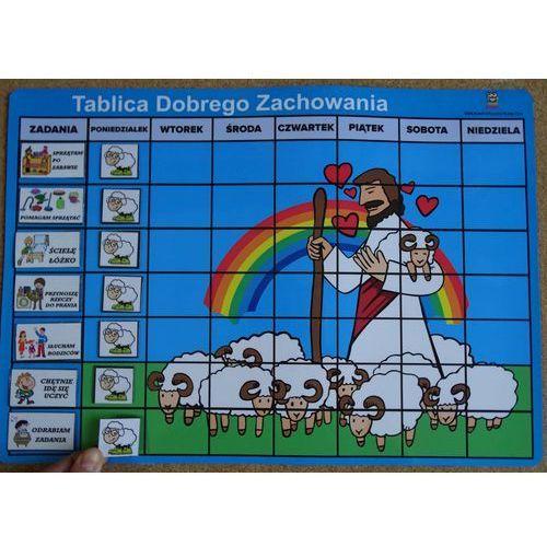 Bystra sowa Magnetyczna tablica dobrego zachowania z owieczkami