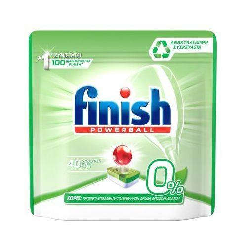 Tabletki FINISH do zmywarki 0% (40 sztuk) (5900627092424)