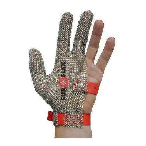 Rękawica ochronna standard, nierdzewna 3-palcowa, niebieska, rozmiar 9, size l, hs133 marki Euroflex