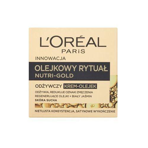 L'Oréal Paris - Nutri-Gold Olejkowy Rytuał Odżywczy krem-olejek skóra sucha 50 m