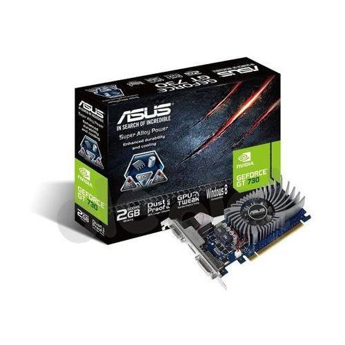 ASUS GeForce GT 730 2048MB DDR5 64bit - produkt w magazynie - szybka wysyłka!