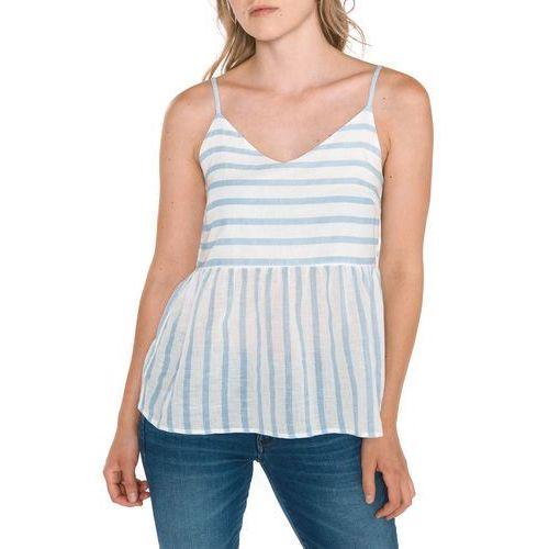 sunny top niebieski biały xs marki Vero moda