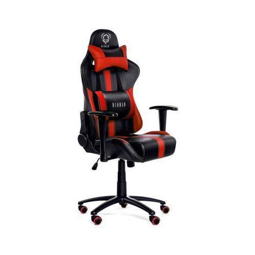 Fotel chairs x-player czarno-czerwony marki Diablo