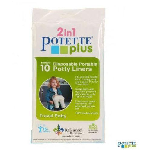 POTETTE PLUS 10 jednorazowych wkładów do nocnika Potette Plus